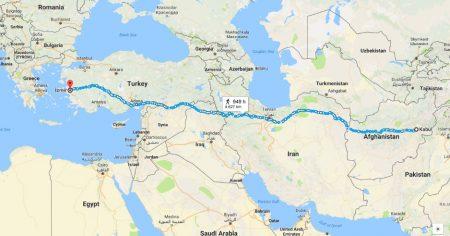 Kabul to Izmir